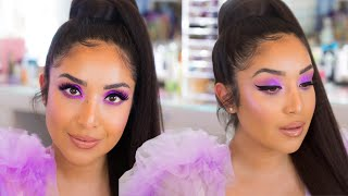 THE LILAC LOOK YOU GUYS REQUESTED! Huda Beauty Lilac Palette 4K Tutorial by Dulce Candy