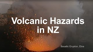 Oruanui New Zealand  city pictures gallery : Volcanic Hazards in New Zealand