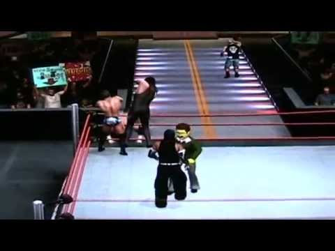 WWE vs The Simpsons Royal Rumble Part 2 of 3