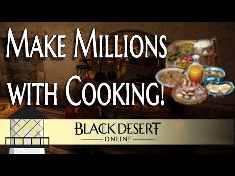 [BDO] Making Millions With Cooking In Black Desert (Guide)
