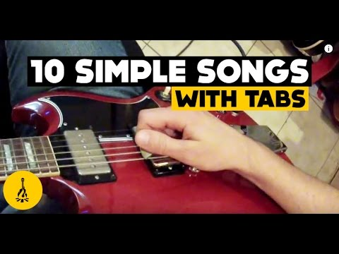 Super Easy Electric Guitar Songs For Beginners