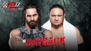Bora Iniciar as SImulações do WWE Payback PPV 2017, e vamos inciar com o combate pelo RAW Tag Team Championship. Após retornarem na Wrestlemania como time su...