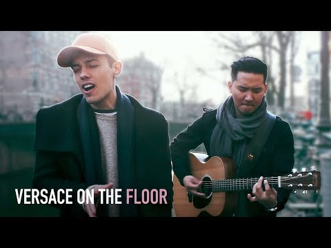 BRUNO MARS - Versace On The Floor (Cover by Leroy Sanchez) LIVE from Amsterdam
