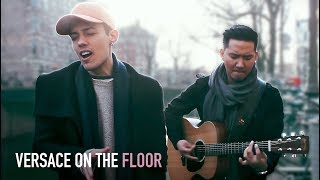 Video BRUNO MARS - Versace On The Floor (Cover by Leroy Sanchez) LIVE from Amsterdam MP3, 3GP, MP4, WEBM, AVI, FLV Maret 2017