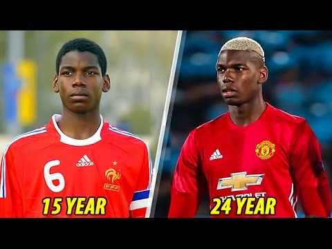 Download Paul Pogba - Transformation From 1 To 24 Years Old