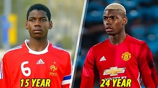 Video Paul Pogba - Transformation From 1 To 24 Years Old MP3, 3GP, MP4, WEBM, AVI, FLV Februari 2019