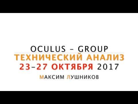 Технический анализ рынка Форекс на неделю: 23.10.17-27.10.17 от Максима Лушникова | OCULUS - Group