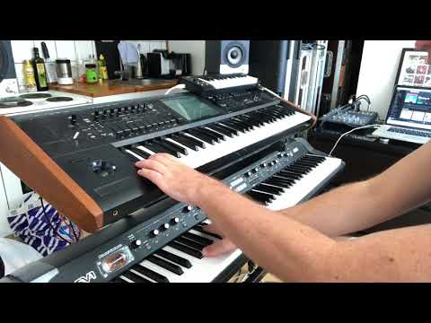 Robyn's Missing U On Korg Kronos