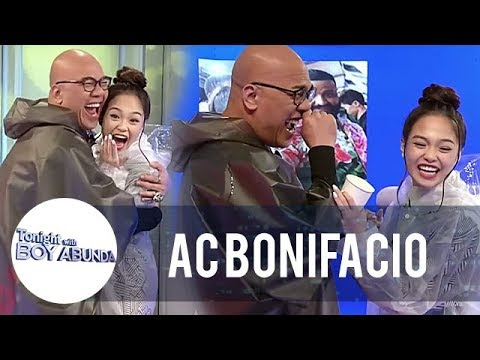 Ac Bonifacio And Tito Boy Abunda Do The Slime Challenge | Twba