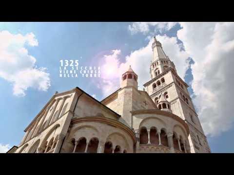 il cielo della cattedrale - il sito unesco di modena