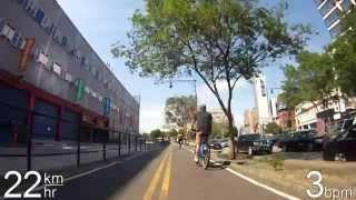 Biking in NYC - Hudson River Greenway Video
