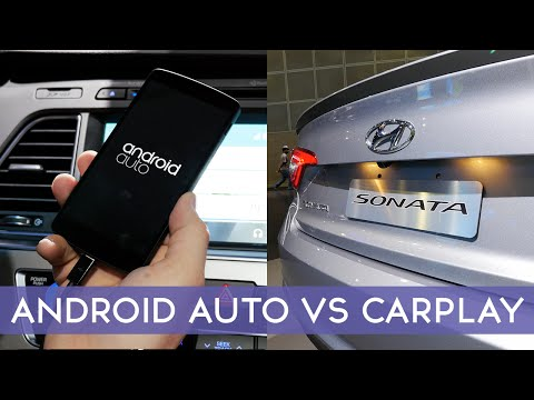 Apple CarPay vs Google Auto