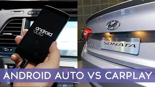 Apple CarPlay vs Google Android Auto
