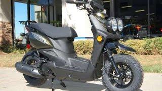 4. 2015 Yamaha Zuma 50F Scooters