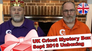 Box United Kingdom  City new picture : United Kingdom's Cricut Mystery Box - September 2016 Unboxing