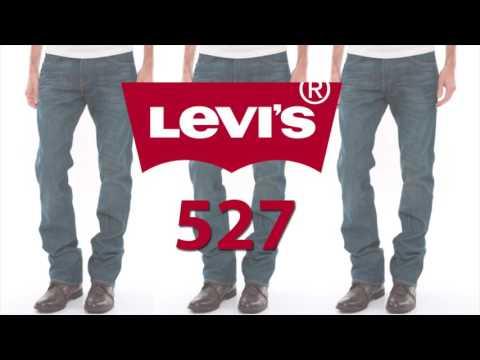 Levi's Fits Explained - 527 Slim Bootcut