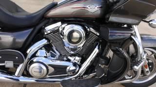 9. SOLD $9,499:  Pre Owned 2012 Kawasaki Vulcan 1700 Voyager