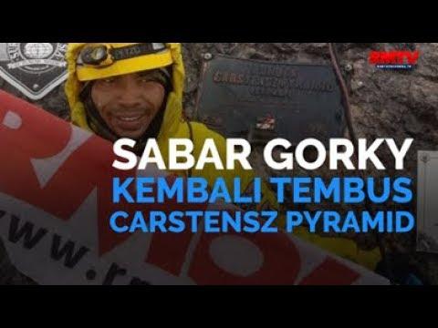Sabar Gorky Kembali Tembus Carstensz Pyramid