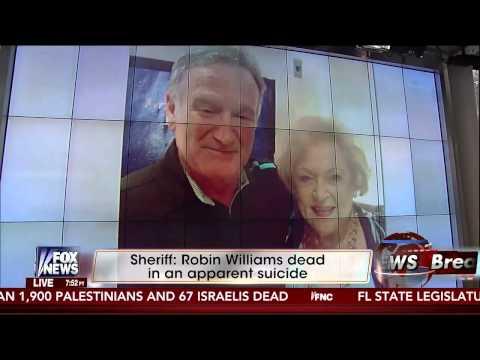 FOX News' Shepard Smith Calls Robin Williams a 'Coward'