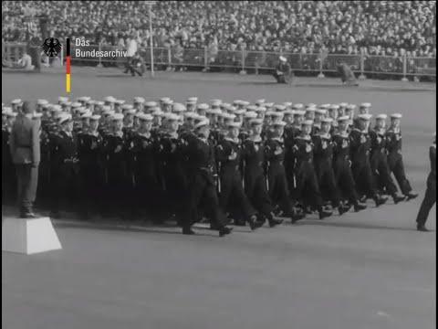 Abschiedsparade der Bundeswehr für Konrad Adenauer (III) (1963)