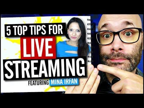 Top 5 YouTube Live Streaming Tips
