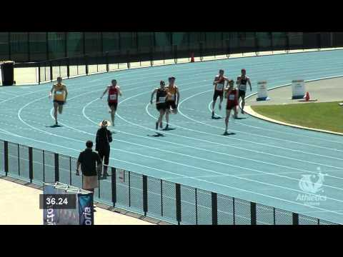 2013 Vic Champs. Men 400m Final