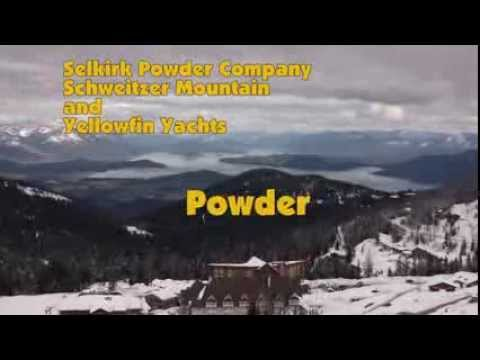 Yellowfin Yachts - April powder in North Idaho, over 200 inches on the ground, more on the way, come and get it while you can.