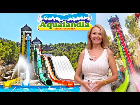 Aqualandia/Aqualandia/The best water park in Europe/Life in Benidorm/Holidays in Spain 2020/Costa Blanca