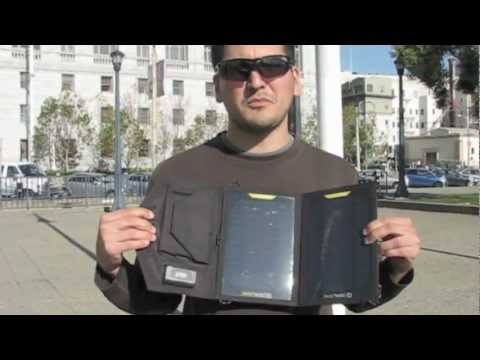 USB Solar Panel Product Review and Test Demonstration – By Solarcycle