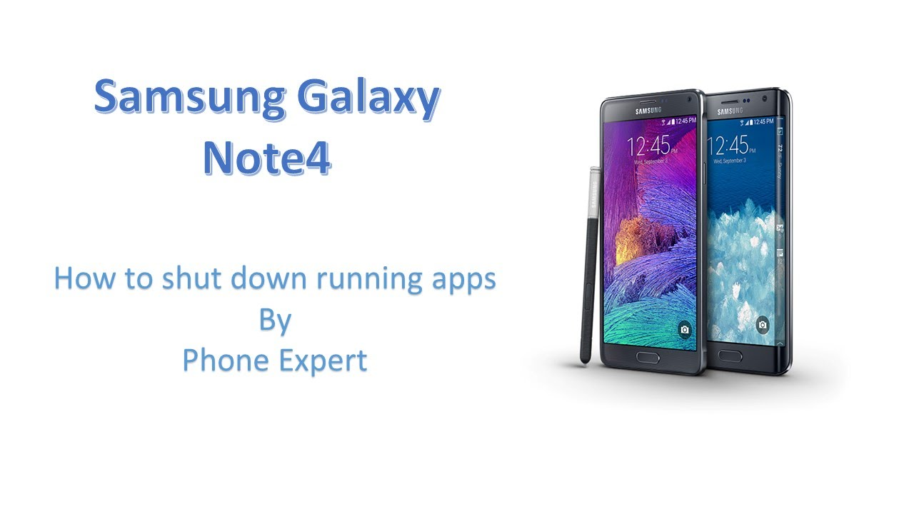 Descargar How To Shut Down Running Apps On Your Samsung Galaxy Note 4 para Celular  #Android
