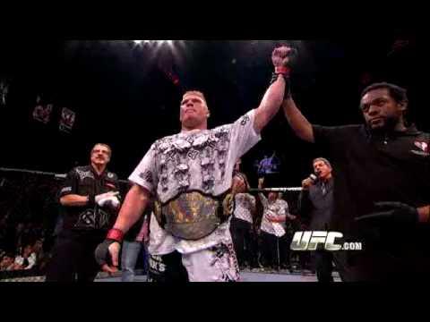 Brock Lesnar PreFight Interview Feature