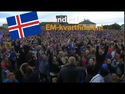 Reykjavik reacts to the win