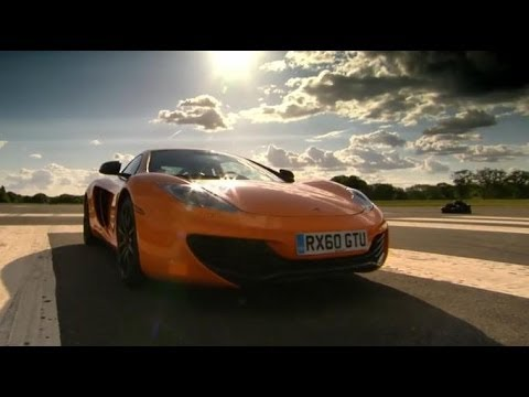 MPEG 4 Part 14 - Jeremy Clarkson takes to the wheel of the incredible McLaren MP4-12C as it meets its deadliest supercar rival, the Ferrari 458, in a full track test. Subscri...