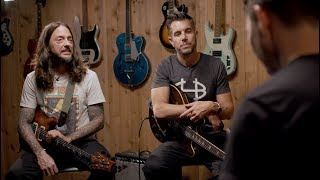 """Highlights from our Facebook conversation with Nick Hexum and Tim Mahoney of 311 - their newest album MOSAIC is available now! http://smarturl.it/MosaicAR/The band discusses how they each got their start playing guitar, being broke trying to make it in LA, and the process of creating their new album 'Mosaic""""."""