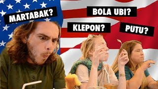Video AMERICANS TRY INDONESIAN STREET FOOD MP3, 3GP, MP4, WEBM, AVI, FLV Juli 2018