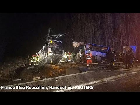 Γαλλία: Στους έξι οι νεκροί μαθητές από τη σύγκρουση τρένου με σχολικό…