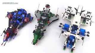 Video LEGO Space Police motherships compared! 1989 v. 1992 v. 2009! MP3, 3GP, MP4, WEBM, AVI, FLV Agustus 2018