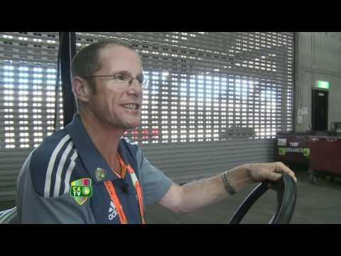 mcg - CATV's James Sherry takes you for a tour underground at the MCG.