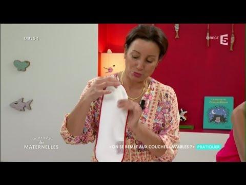 Les couches lavables pour bébé  - La Maison des Maternelles