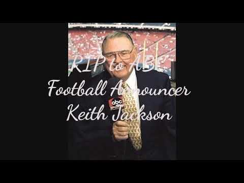 ABC's College Football  Keith Jackson Died He was 89