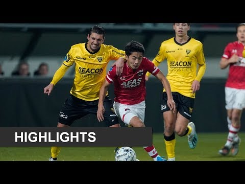 AZ Alkmaar Zaanstreek 1-0 VVV Venlose Voetbal Vere...