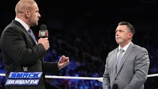 Triple H promises to fire Big Show, Dolph Ziggler, Ryback & Eric Rowan: SmackDown, November 21, 2014