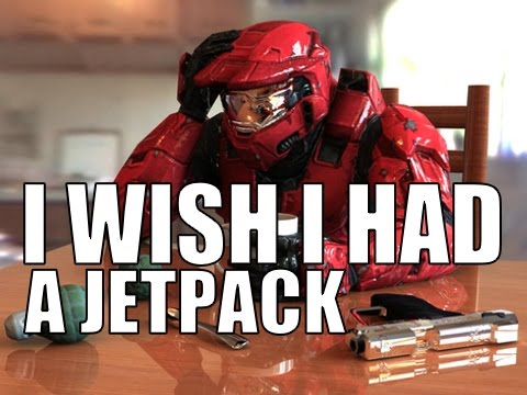 Halo Song - I Wish I Had A Jetpack   by Brysi