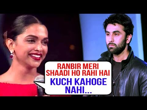Ranbir Kapoor Emotional, NO REACTION On Deepika Pa
