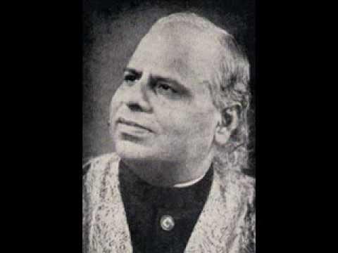 Pt. Omkarnath Thakur- Raag Asavari
