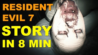 Resident Evil 7 Story - Entire Storyline in 8 MinutesWe present you the complete story of Resident Evil 7 crammed in 8 minutes. Not all of you have enough money in your wallet to purchase a newly released game and watching those lengthy walkthrough videos can be tedious. So we decided to create a new series where we take a video game and edit its full storyline within the 10 minutes mark. Let us know if you enjoyed this video and which game you'd like us to cover next. Don't forget to like the video and leave a comment. We really appreciate your feedback. Also, please click the subscribe button and help us grow bigger to create better quality content. Check out our videos here: https://www.youtube.com/user/gamefreakdudes/videos
