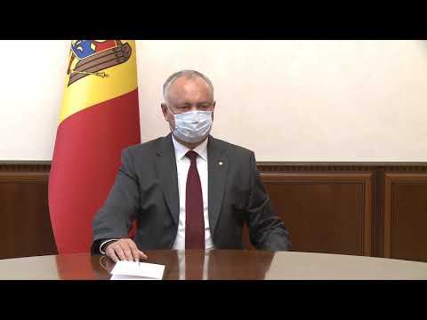 Глава государства встретился с ректором Тираспольского государственного университета