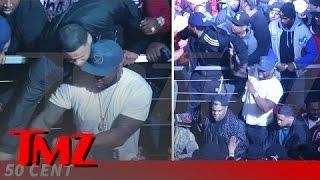 Video 50 Cent Keeps Cool (Mostly) As Club Gig Gets Violent   TMZ MP3, 3GP, MP4, WEBM, AVI, FLV Juni 2019