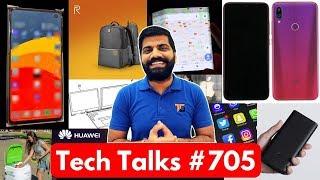 Tech Talks #705 - Xiaomi Folding Phone, Samsung S10 Photo, Kia AI, Realme Backpack, Dual Laptop Dell