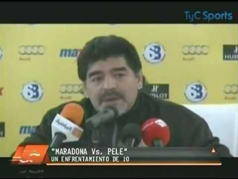 Las peleas entre Maradona y Pele